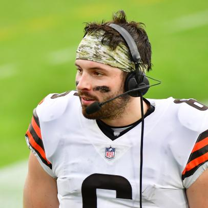 Yes, Baker Mayfield did quote Ron Swanson in his postgame press conference