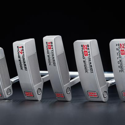 Bettinardi's grooved face technology bolsters its new Studio Stock lineup