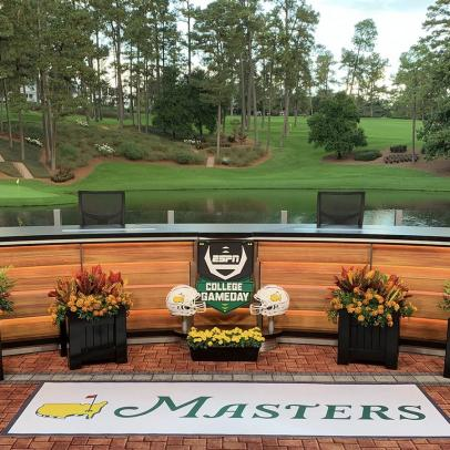 Masters 2020: Here's your first look at College GameDay's epic Masters set