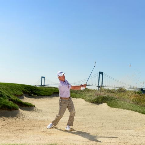 Hit better bunker shots with Michael Breed's simple tips