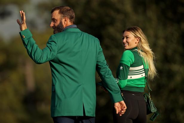 Dustin Johnson says no date set 'yet' for wedding with Paulina Gretzky