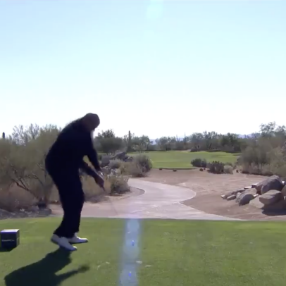 Charles Barkley's swing looks shockingly good in The Match 3