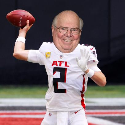 Verne Lundquist x Atlanta Falcons is the Masters week mash-up you didn't know you needed