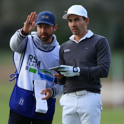 Camilo Villegas plays on, just as his brave daughter did