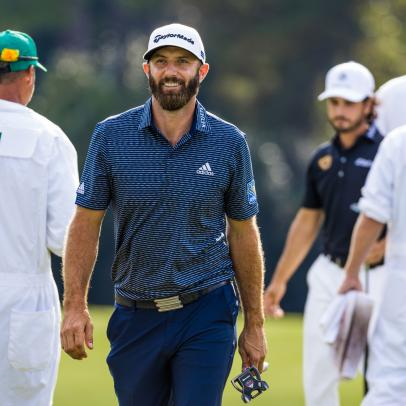 This might be the most intriguing stat to sum up Dustin Johnson's dominant 2020