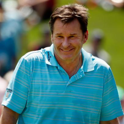 Masters 2020: Nick Faldo vows to run naked through Augusta if Bryson DeChambeau drives first green