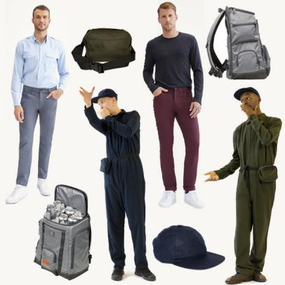Best New Golf Stuff: J.Lindeberg and Whim collab on a caddie-inspired jumpsuit, 7 For All Mankind's stylish golf pants and Stitch's newest cooler backpack
