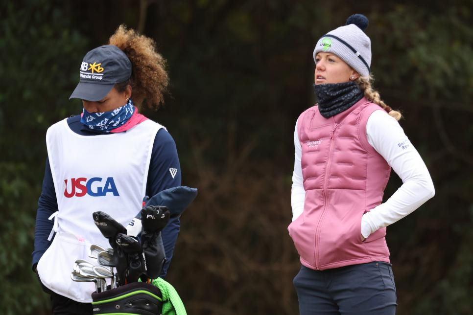 U S Women S Open 2020 It S A Cold Final Round In Houston And These Photos Prove It Golf News And Tour Information Golfdigest Com