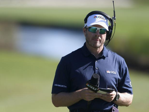 John Wood is the latest caddie to become a full-time on-course TV reporter