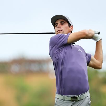 Joaquin Niemann has extra motivation to play well at the Mayakoba Golf Classic—and it's working