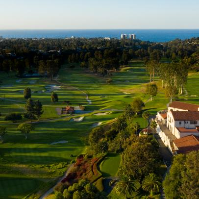 Riviera Country Club: An exclusive drone tour of Hogan's Alley
