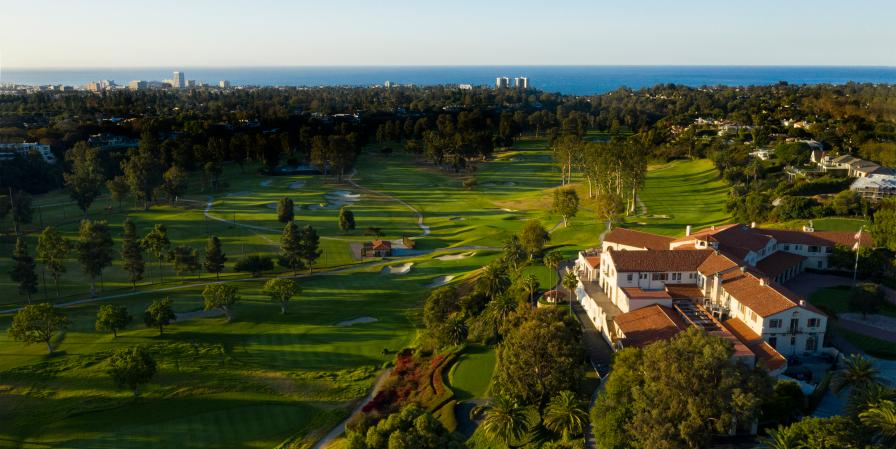 An exclusive drone tour of Riviera Country Club