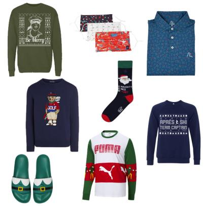Be the most festive golfer in your group with our favorite holiday golf gear
