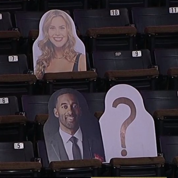 Wake Forest uses cutouts from 'The Bachelor' in crowd to honor former athlete turned contestant