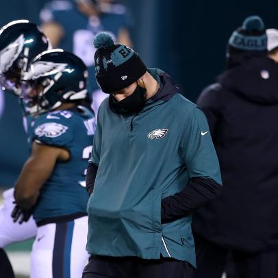 Carson Wentz suffers his worst indignity yet—at the hands of a rookie wide receiver