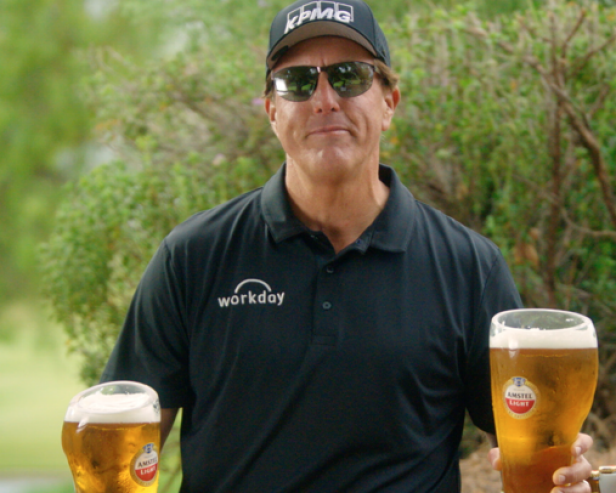 Phil Mickelson can't stop, won't stop making (funny) calf-related content