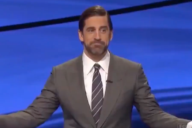 Contestants blanking on a Packers question in front of Aaron Rodgers might be the Jeopardy! fail of the century