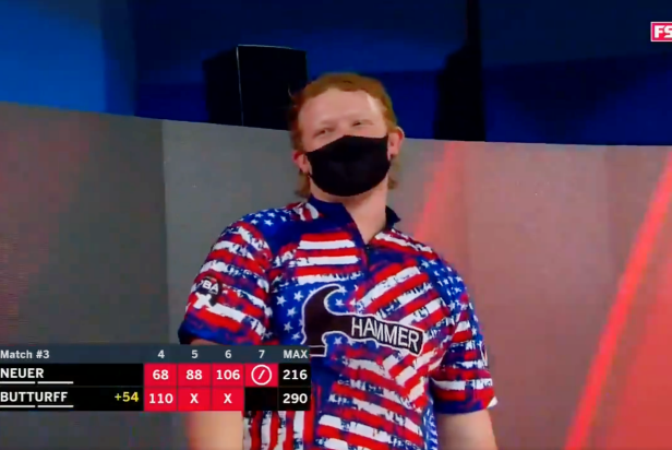 Your hero of the weekend is this 18-year-old PBA pro (sorry, Hideki) who drilled a 7-10 split on TV for the first time in 30 years
