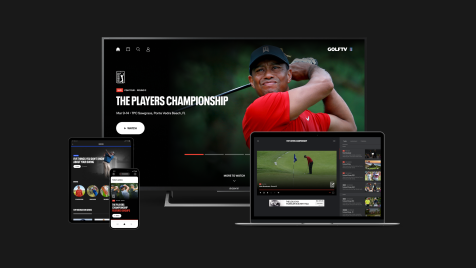 GOLFTV: Welcome to our new home