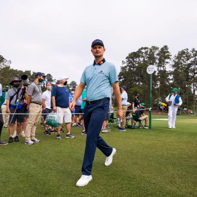 "Masters 2021: Justin Rose goes from nearly pressing the ""panic button"" to keeping the lead"