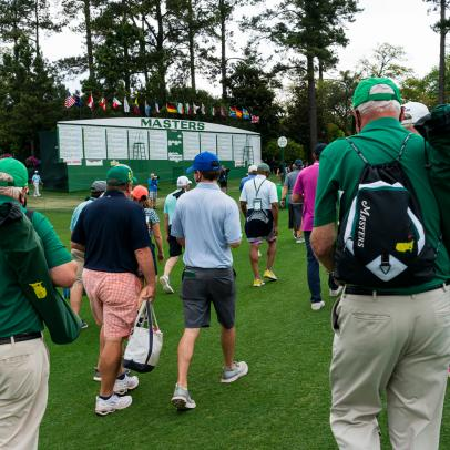 Masters 2021: Overheard from the (limited) gallery at Augusta National over the weekend