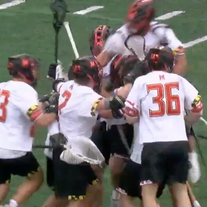 This 60-yard bomb from Maryland lax's Logan McNaney is one of the great goalie goals of our time