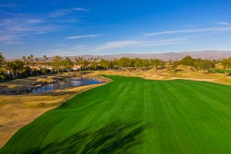 This hole at PGA West shows how par 5s can still test the pros