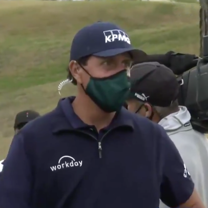 The 2021 Amex Charity Challenge might have been Phil Mickelson's best mic'd-up performance yet