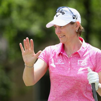 Annika Sorenstam is in the celebrity field at the Diamond Resorts Tournament of Champions, but isn't calling it a comeback