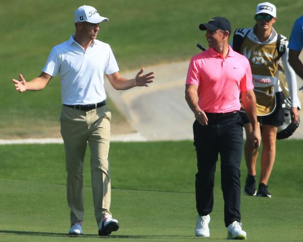 Rory McIlroy and Justin Thomas couldn't have gotten off to more opposite starts in Abu Dhabi