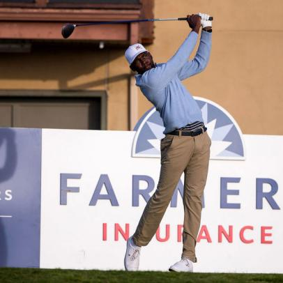 Golf saved Kamaiu Johnson, and his resolve will be rewarded in his PGA Tour debut