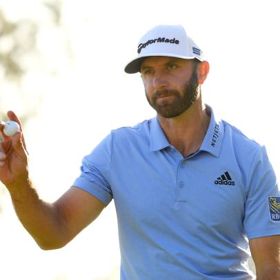 To the surprise of no one, Dustin Johnson's stats at Riviera are flat-out dominant