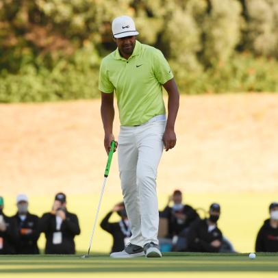 Tony Finau did exactly what he was supposed to do on Sunday, and it still wasn't enough