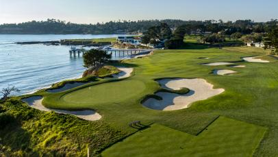 Pebble Beach's lone short par 4 is no pushover