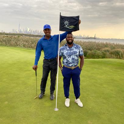 How an Internet letter turned into a $100,000 grant for two Black golfers