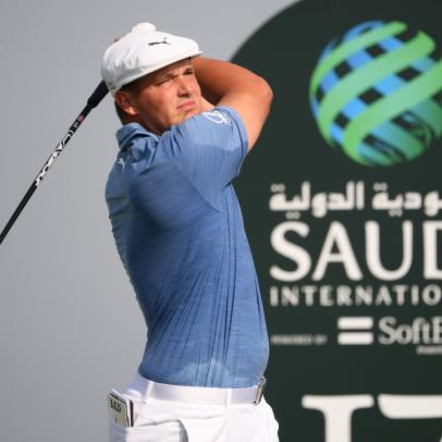 Scoring was low on Day 1 at the Saudi International, unless you were among the Americans in the field