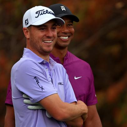 Emotional Justin Thomas reacts to Tiger Woods' accident: 'I'm sick to my stomach'