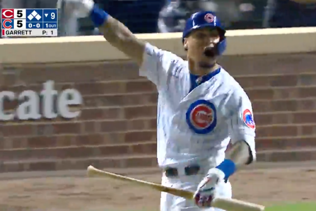Javy Baez may not live to tell the tale of his hilariously over-the-top walk-off celebration against Amir Garrett