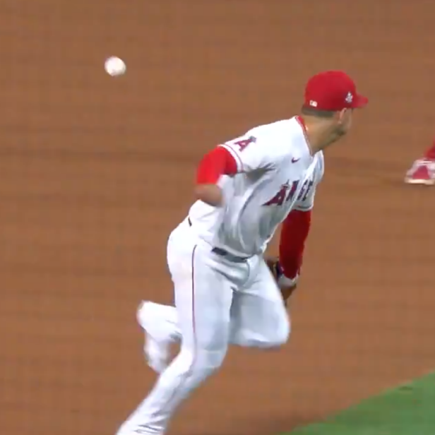 This is, without a doubt, THE defensive play of the year in Major League Baseball