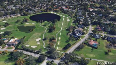 A closer look at Bay Hill's 11th hole and how it achieves intrigue and difficulty