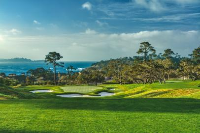 An exclusive video tour of The Hay, Pebble Beach's new par-3 course