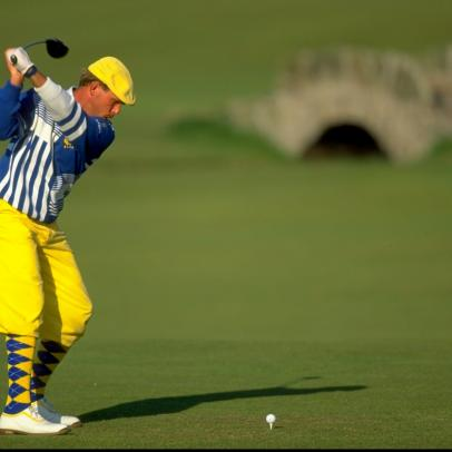 You won't believe how much someone paid for Payne Stewart's used socks