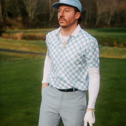 Macklemore created a line of golf clothes that pushes the boundaries of on-course style