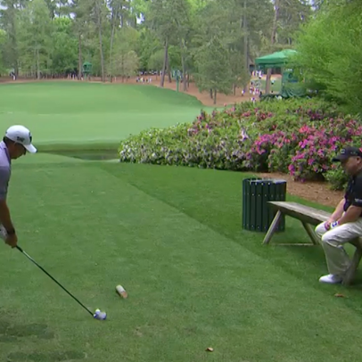 Masters 2021: Ian Woosnam resting on a bench on the 13th tee is every middle-aged golfer ever
