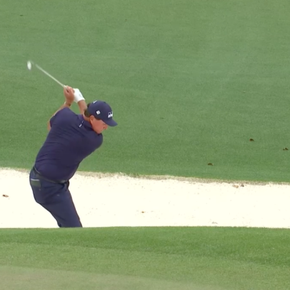 Masters 2021: This Phil Mickelson bunker shot was wizardry of the highest order