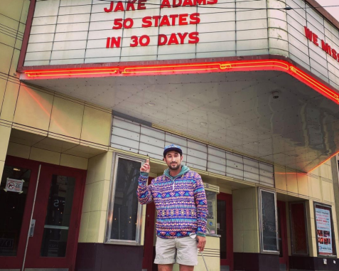 Golfer/comedian completes journey of hitting a golf ball in all 50 states in 30 days, is ready for nap