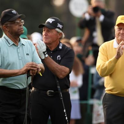 Gary Player says son was 'wrong' for guerilla marketing at Masters, but won't say if he's banned