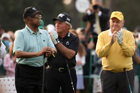 Gary Player says son was 'wrong' for guerrilla marketing at Masters, but won't say if he's banned