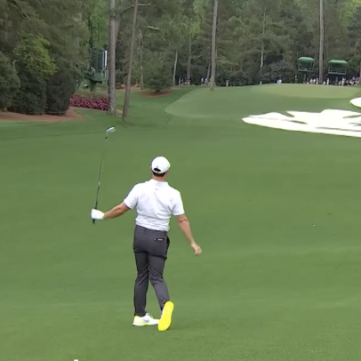 Masters 2021: This hosel rocket/uber slice sums up Rory McIlroy's week