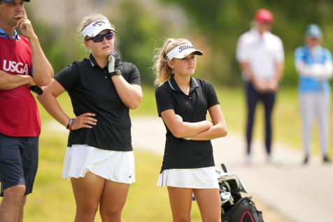How  teens (barely) sent accomplished veterans home in first round of the U.S. Women's Amateur Four-Ball